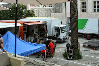 Photo: Dubrovnik. Dreharbeiten 5. Staffel