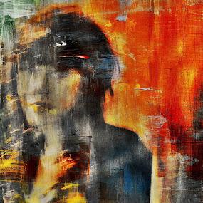 Shadows (portrait) by Dalibor Davidovic - Painting All Painting ( digital painting, digital, portrait )