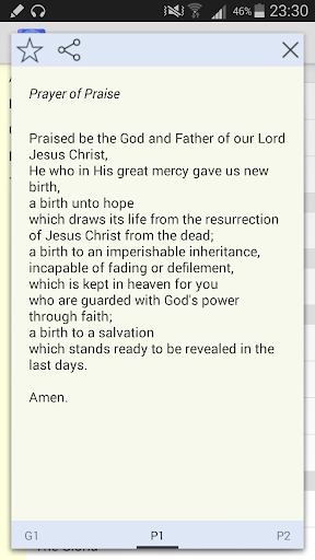 Praise Prayers
