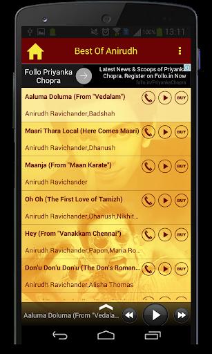 Best Of Anirudh Songs  screenshots 4