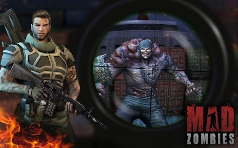 MAD ZOMBIES : Offline Zombie Games Apk Download For Android and Iphone 6