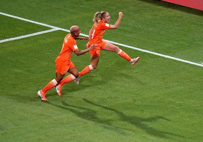 Jackie Groenen speelde een sterk WK, nu wenkt Manchester United