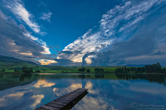 """Photo: """"Down by the Lake"""" Castleburn Lake, Underberg, South Africa  I was challenged by +Mike Spinakto post a nature photo per day for 5 days. This is #3 - I hope you like it! Single exposure with the magnificent #D800 from #Nikon .  MY WEBSITE: www.morkelerasmus.com SAFARIS: www.wild-eye.co.za  This photo is Copyrighted © Morkel Erasmus Photography.  #landscapephotography  #lake  #Drakensberg  #Castleburn  #Underberg  #SouthAfrica  #feelgoodfriday  #reflectionphotos  #landscape  #waterscape"""