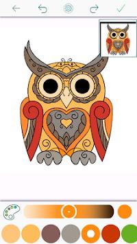 Mendownload Buku Mewarnai Burung Hantu Oleh Colority Aplikasi Versi