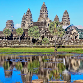 Angkor wat by Eric Dimaano - Buildings & Architecture Public & Historical ( landmark, travel )
