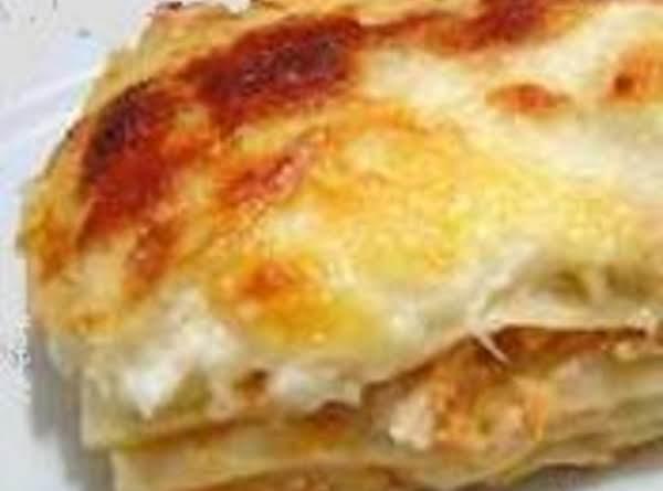 The Best Chicken Lasagna