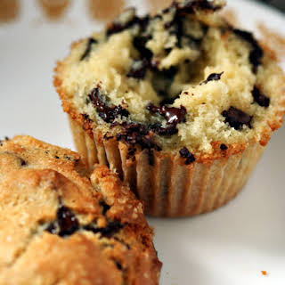 Crunchy-Top Chocolate Chip Muffins.