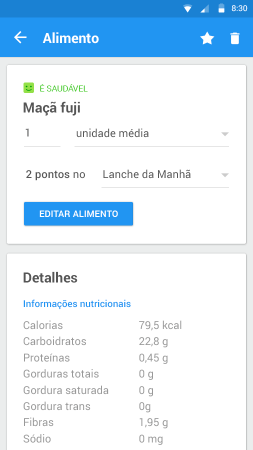 Dieta e Saude- screenshot