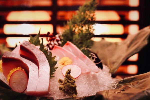 新竹竹北橙家新日本料理,光影與視覺間的味蕾享受