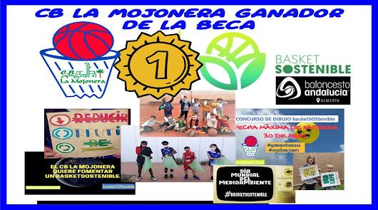 El Club Baloncesto La Mojonera ganador en Almería de la beca #Basketsostenible