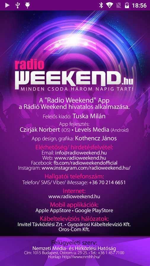 Radio Weekend- screenshot
