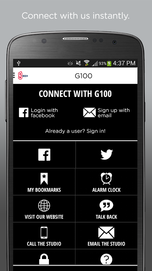 G100- screenshot