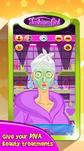 Fashion Girl: Makeover Salon  screenshots 4