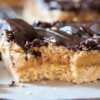 Chocolate Peanut Butter Ooey Gooey Bars