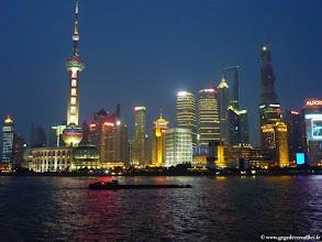 Photo: CHINE-Les tours de Pudong vues du Bund à Shanghai