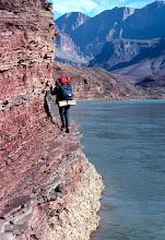Photo: Hiker,Grand Canyon National Park, Arizona