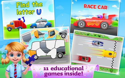 The Wheels on the Bus - Learning Songs & Puzzles 1.0.8 screenshots 4