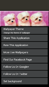Puppy Live Wallpaper 2 screenshot 4