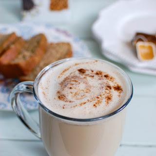 Homemade Chai Tea Latte.