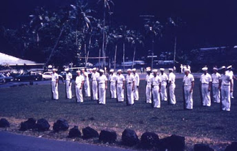 Photo: Honor Guard practicing in Pago Pago prior to arriving in Gisborne,NZ