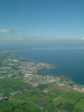 Photo: A birdview of the Lake Constance after takeoff from runway 28 in St. Gallen http://www.swiss-flight.net