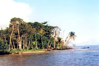 Photo: Livingstone, wybrzeże Morza Karaibskiego / Caribbean Sea coast