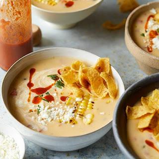 Mexican Cheese Chowder.