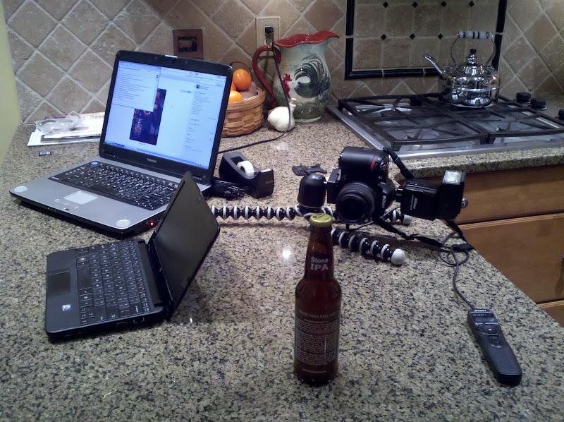 Photo: Behind the scenes