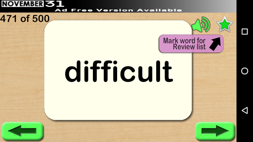 Fry Words 2 (Free) screenshot 2