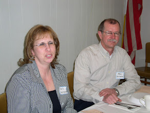 Photo: Our guest speaker and wife