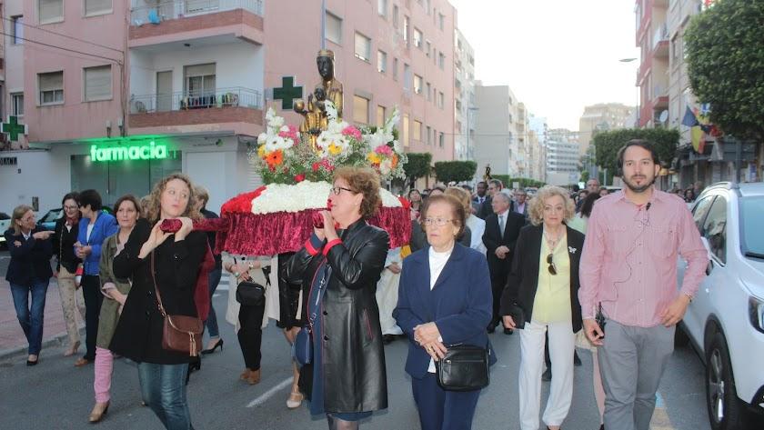 Procesión de la Virgen de Montserrat