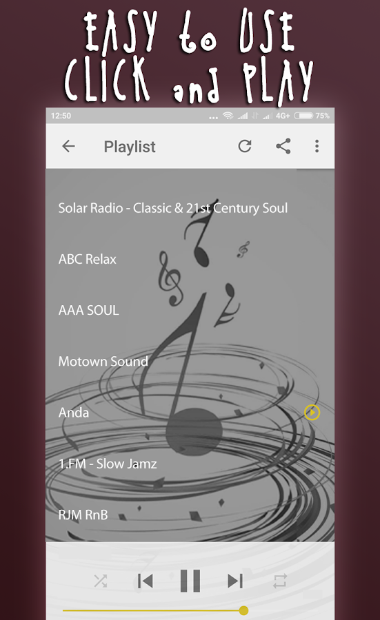 R&B Soul Music- screenshot