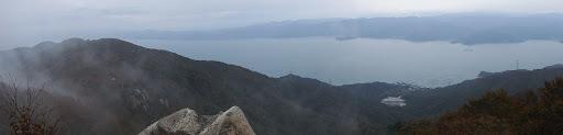 展望岩からパノラマ