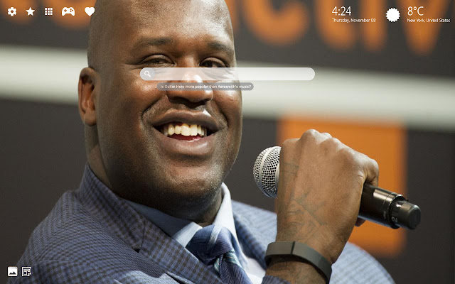 Shaquille O Neal Wallpaper & Basketball Theme