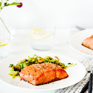 Ginger and Soy Glazed Salmon Fillets