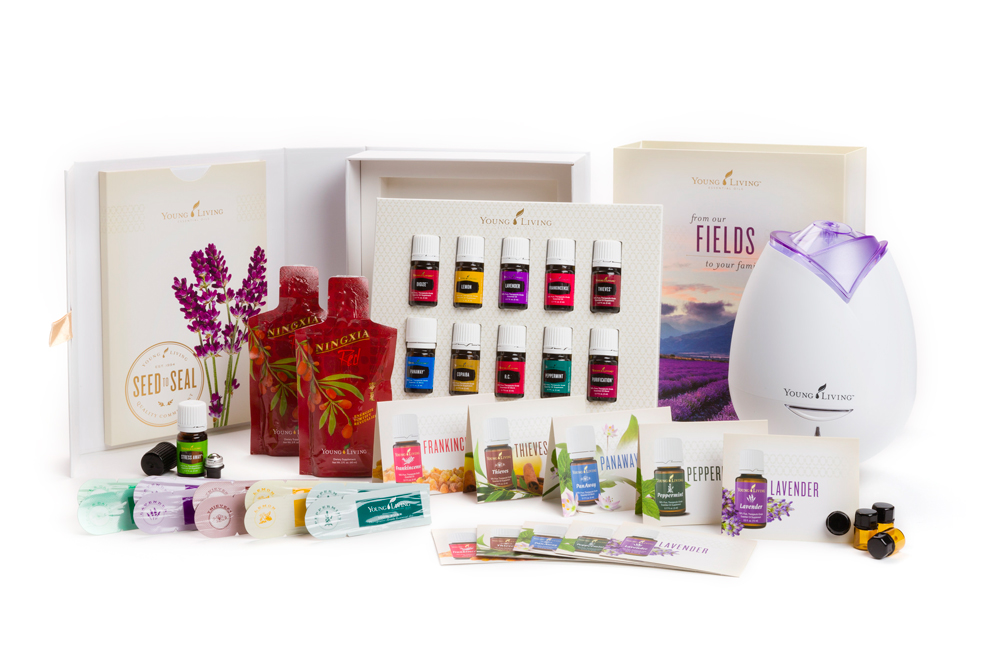 Young Living Essential Oils Starter Kit 2015