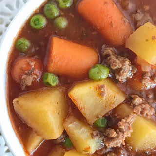 Crock Pot Ground Beef Stew Recipes.