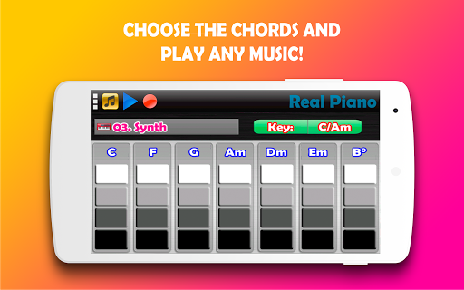 Real Piano - The Best Piano Simulator 3.22 screenshots 2