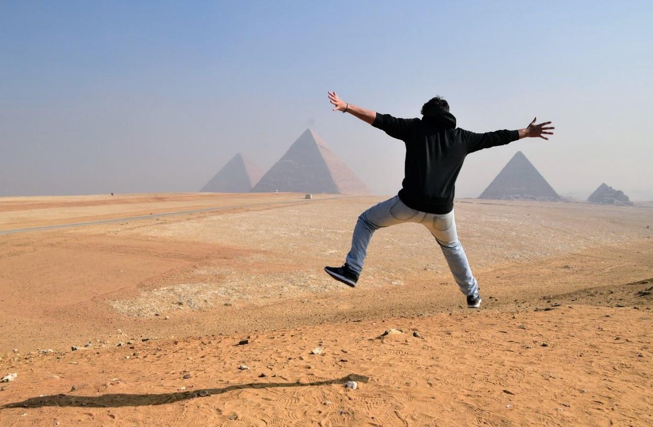 visitar las Pirámides de Giza