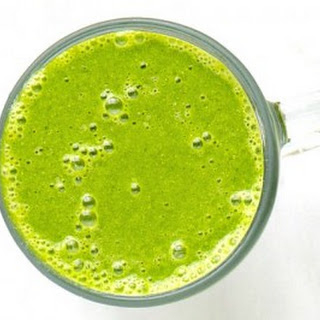 Green Tea Double Banana Spinach Smoothie