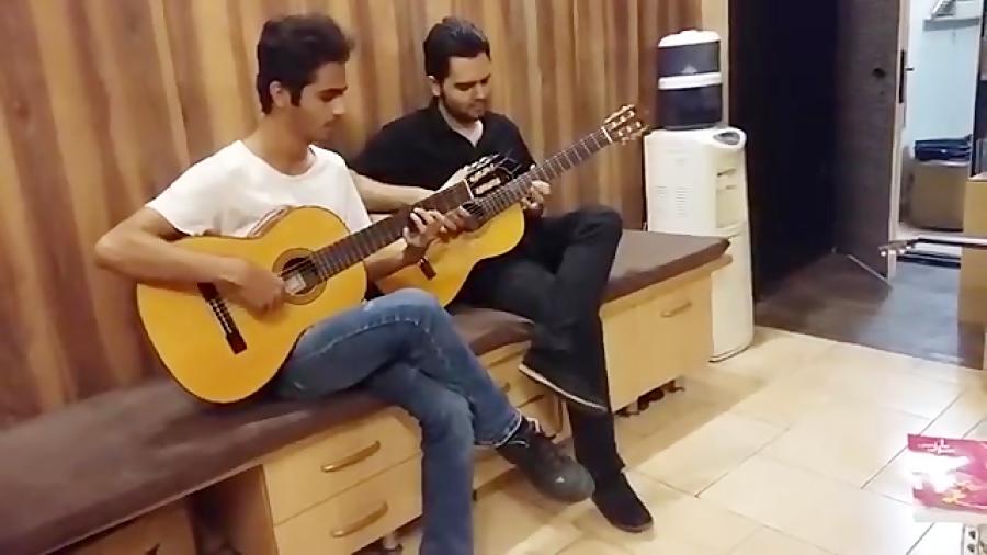 حسین آذرنیا هنرجوی متوسطه گیتار فرزین نیازخانی