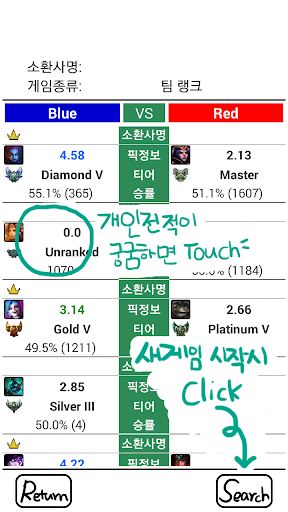 ZPZG for LOL 롤 전적검색