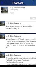 U.S. Title Records screenshot thumbnail