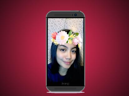 flower crown image editor 2017 - náhled