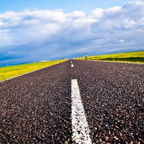 the Open Road by Sandeep Kochar - Landscapes Travel ( mesa, turkey, road, sunlight )