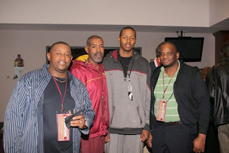Photo: Varsity Club: Men's Basketball Reunion. Friday night at the Varsity Club