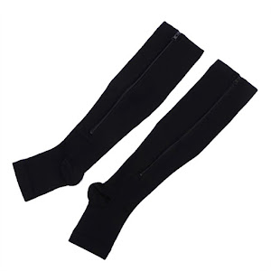 Sosete compresive - ciorapi medicinali - culoare negru