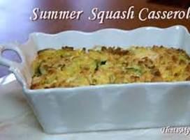 Two Squash Casserole Recipe
