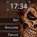 Wood Skull ssLauncher Theme icon