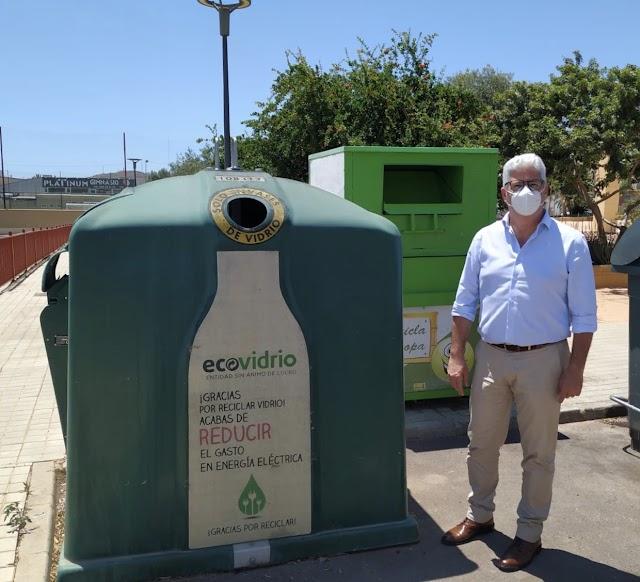 Ismael Torres, presidente del CRSII, en la presentación del Plan Ecovidrio.